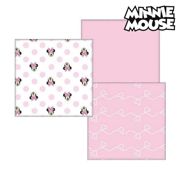 Musselin-Tuch Minnie Mouse 75402 Rosa (3Er pack)