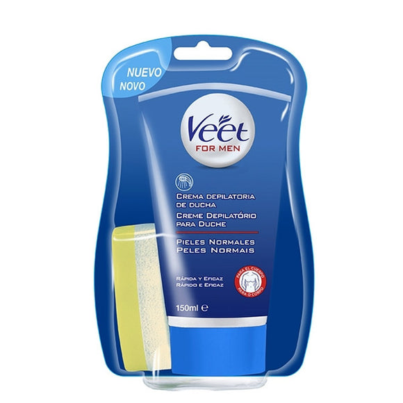 Veet for Men In-Shower Enthaarungscreme Normale Haut 150 ml