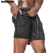 Summer Men's Shorts Breathable Fitness Joggers