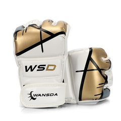 Half Finger MMA Gloves