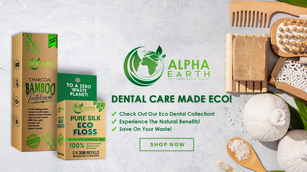 Alpha Earth - Bamboo Toothbrush