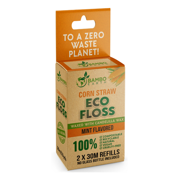 Eco Dental Corn Floss 2x Refills