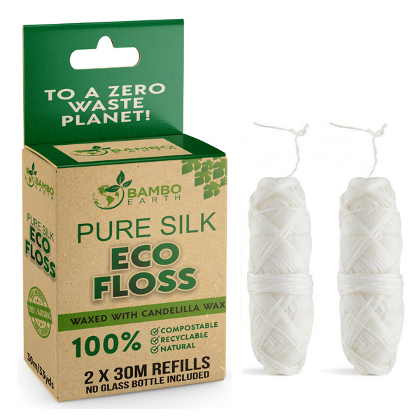 Eco Dental Silk Floss 2x Refills