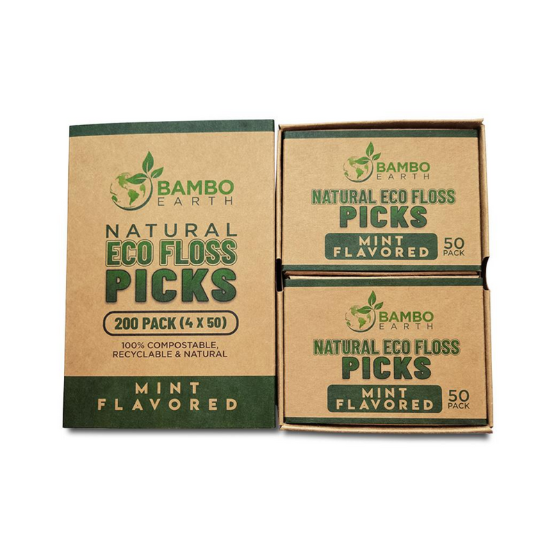 Eco Floss Picks - Mint Flavored