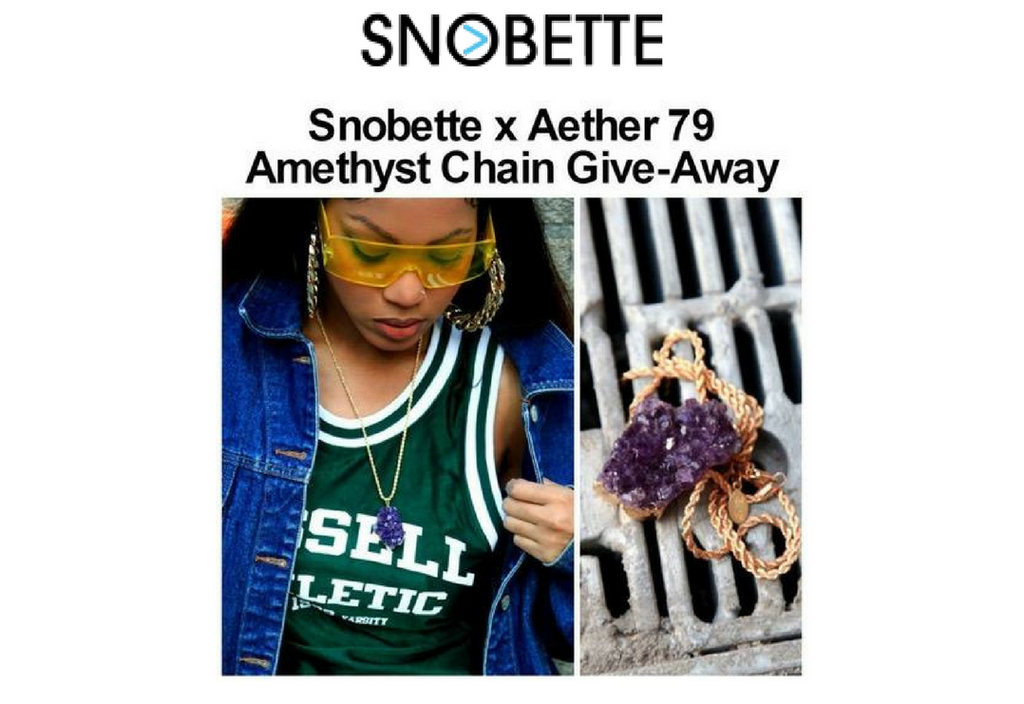 FEATURES: SNOBETTE X AETHER 79 GIVEAWAY