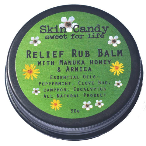 SkinCandy Relief Rub Balm 30g