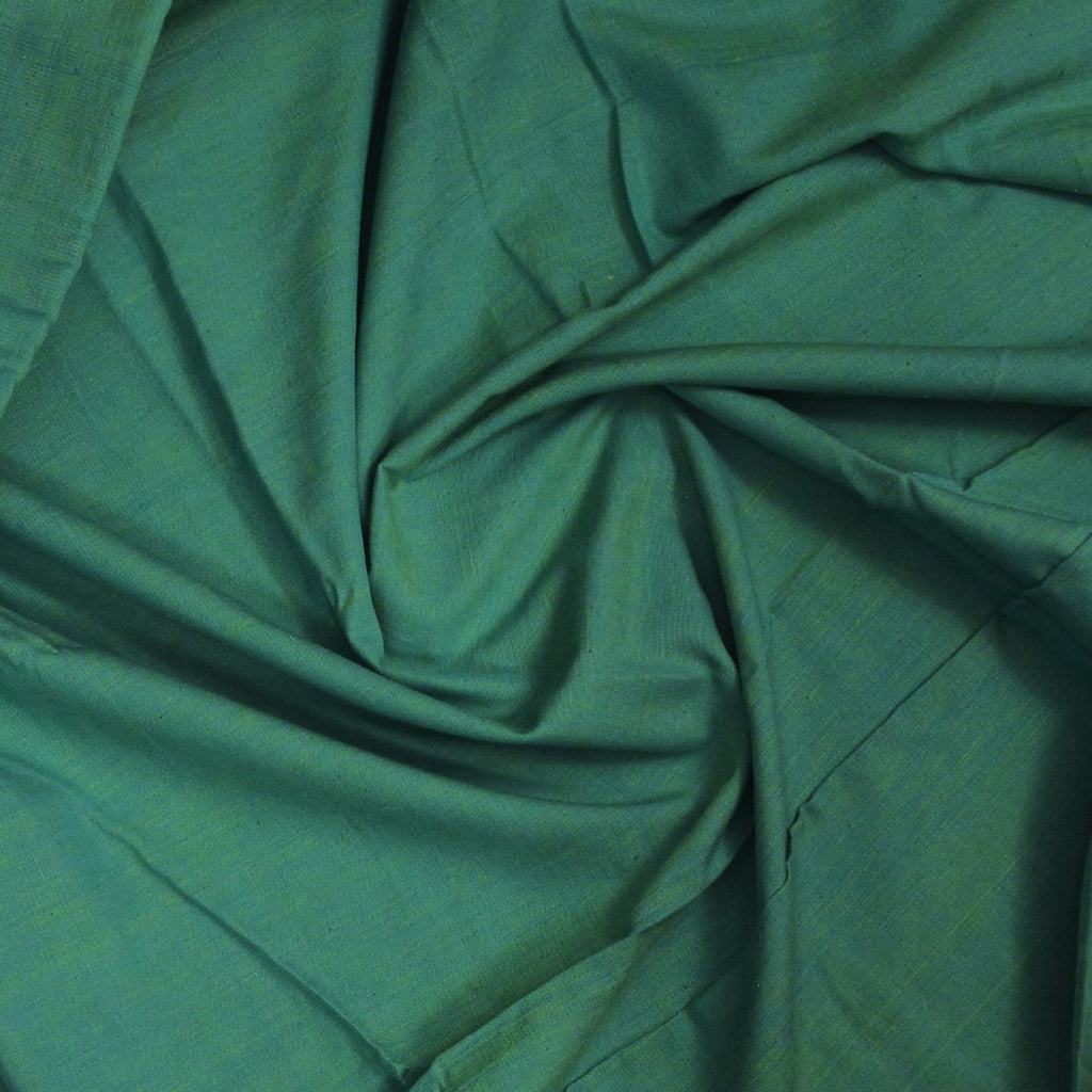 Khadi Cotton Green