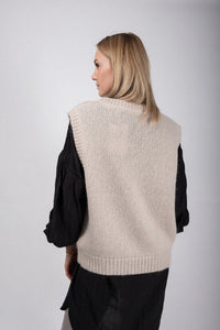 Co´Couture Pullunder beige