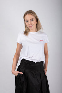 "SET T-Shirt weiß ""woman"""