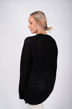 Load image into Gallery viewer, Gudrun & Gudrun- Pullover long sleeve Black