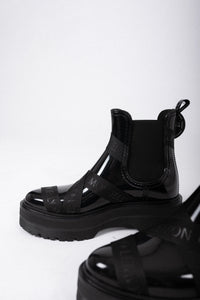 Lemon Jelly Boots schwarz