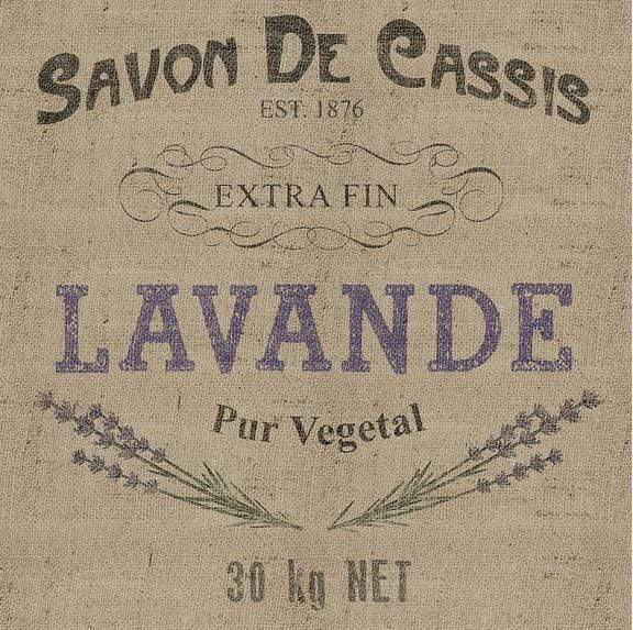 Canvas print showing a retro French advertisement