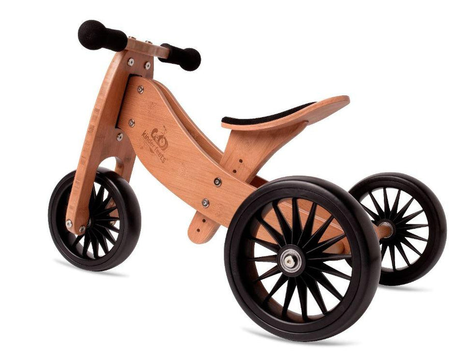 Wooden tricycle for toddlers by Kinderfeet