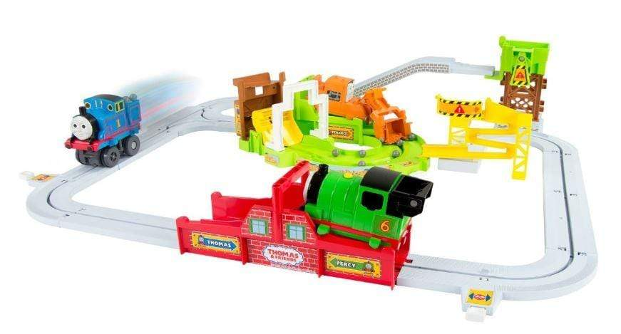 Thomas and Friends Big Loader- Sodor Delivery Set. Shown out of the box assembled