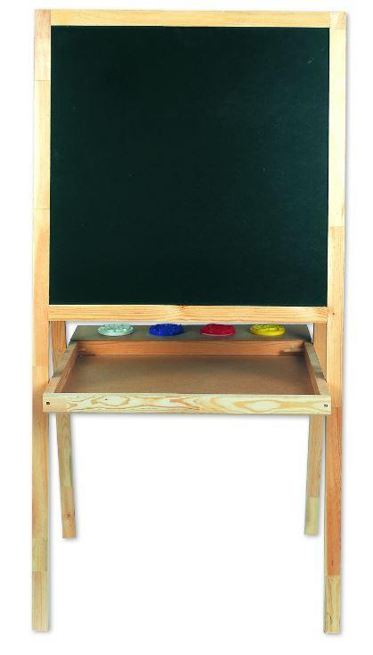Childrens blackboard with 5 uses showing the blackboard