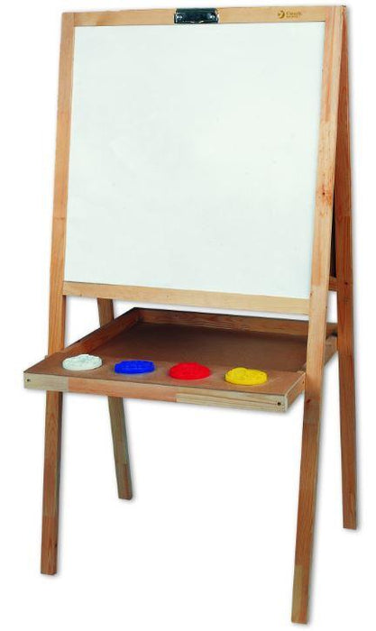 Childrens blackboard with 5 uses showing the whiteboard