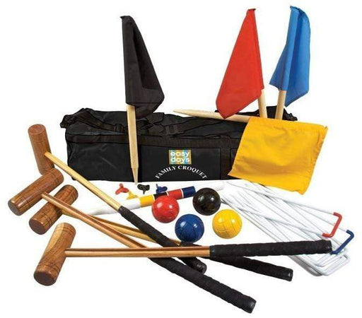 Full croquet set