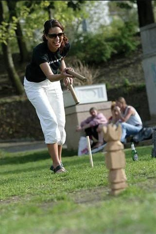 Easy Days - Wooden Super Kubb (larger)
