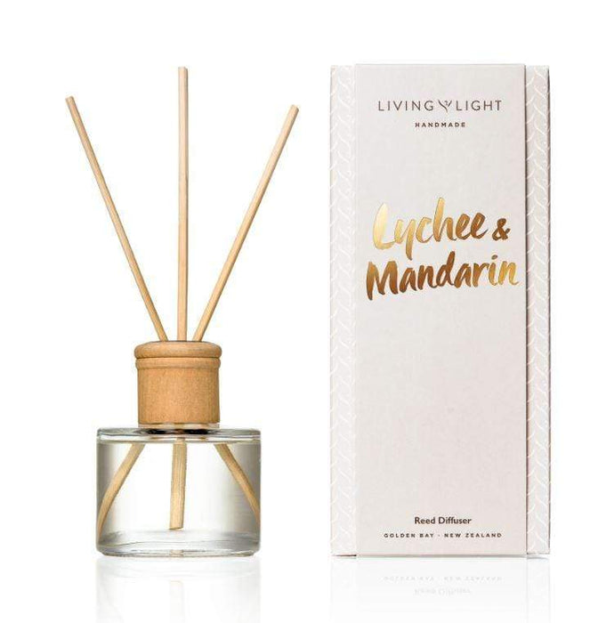 Lychee and mandarin diffuser scent