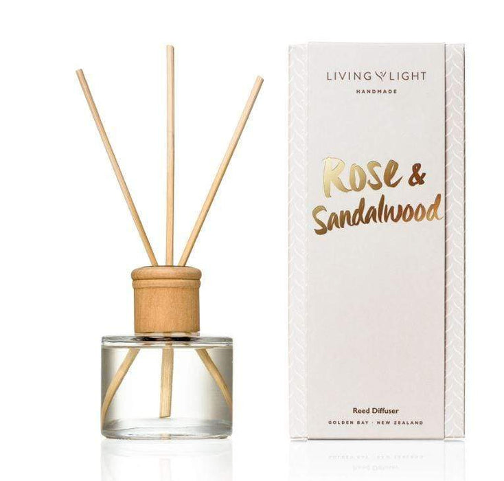Rose and sandalwood diffuser scent