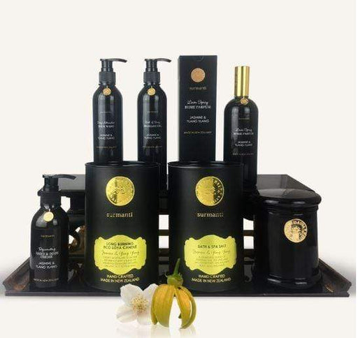 Surmanti Jasmine & Ylang Ylang Pamper & Spa Gift Box.
