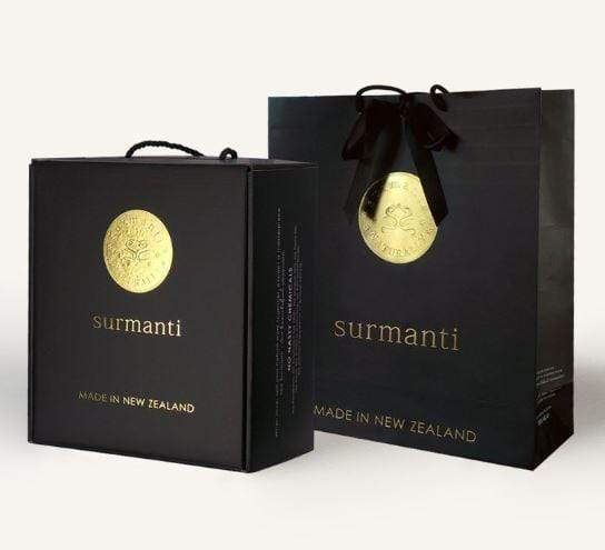 Surmanti Gift Box and Packaging.