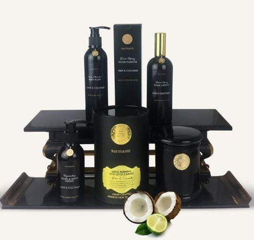 Surmanti Signature Gift Box. Lime and Coconut.