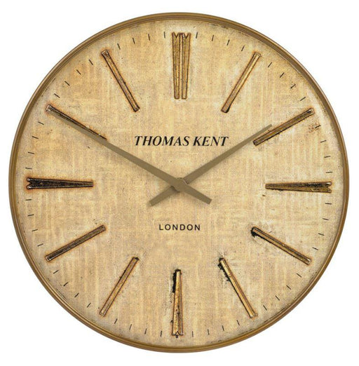 Large clock with vintage watch face. Made by Troop London.