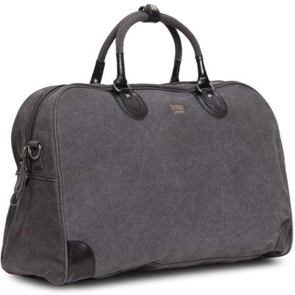 Oblique view of Troop London Classic large canvas holdall