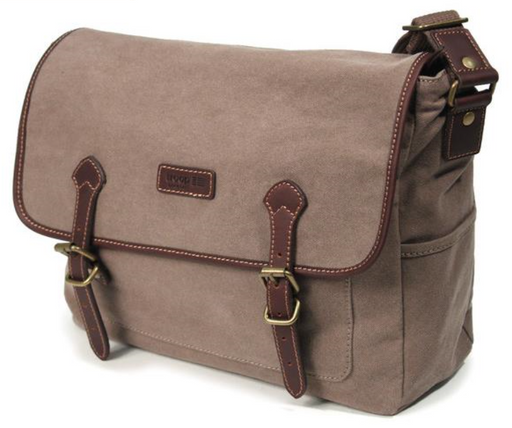Brown business Satchel made by Troop London
