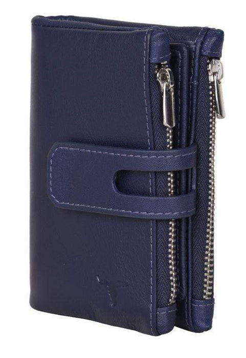 Sierra Wallet w/2 Zipped Pockets- 3 colours