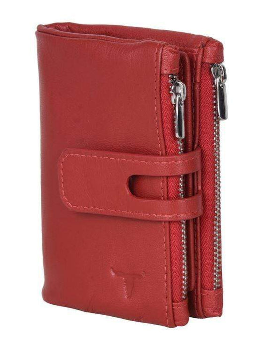 Ladies wallet - red