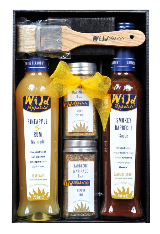 BBQ marinade set in a gift box