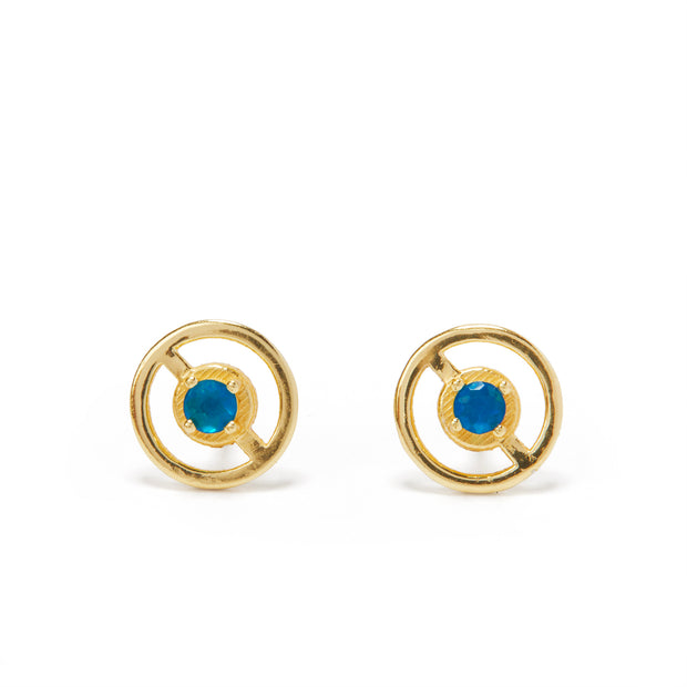 Third Eye Stud Earrings