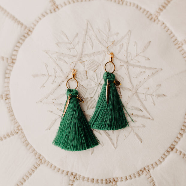 Kendall Tassel Earrings