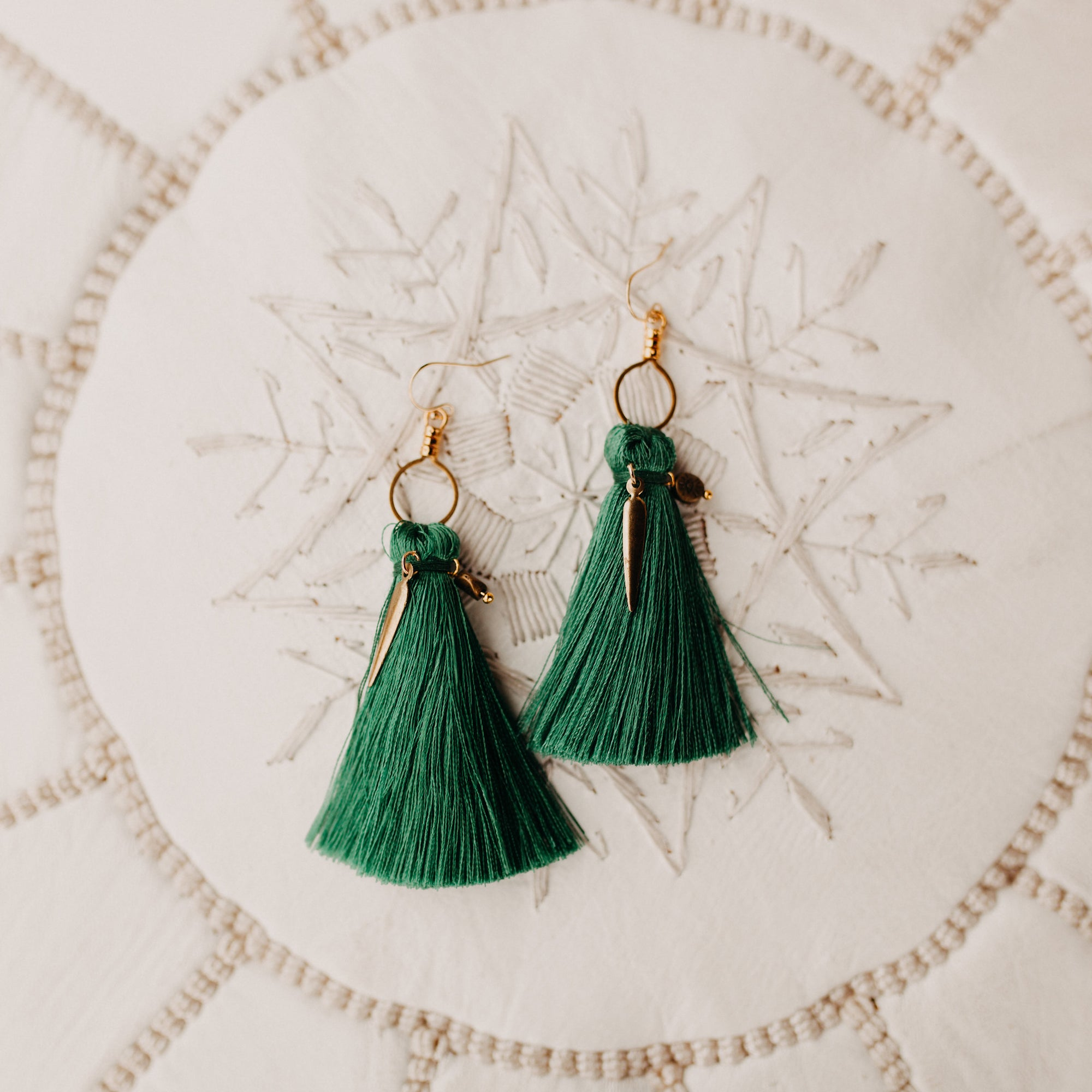 Kendal tassel earrings