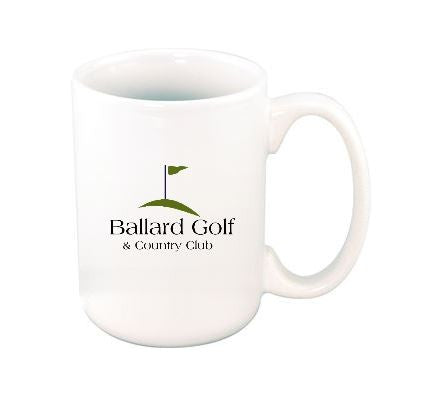 Ballard Golf and Country Club Ceramic Coffee Mug