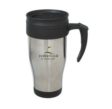 Ballard Golf and Country Club 14 Oz. Stainless Steel Travel Mug