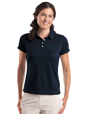 Cozad Country Club - Nike Golf - Ladies Dri-FIT Pebble Texture Polo