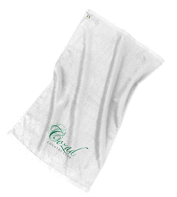Cozad Country Club - Port Authority Grommeted Golf Towel