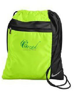 Cozad Country Club - Nike Golf Cinch Sack