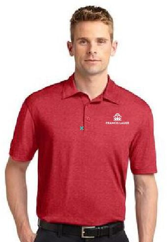 Francis Lauer Men's Sport-Tek® Heather Contender™ Polo