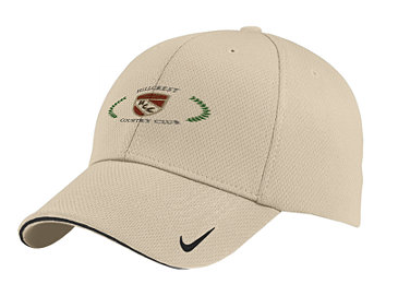 Hillcrest Country Club - Nike Golf - Dri-FIT Mesh Swoosh Flex Sandwich Cap