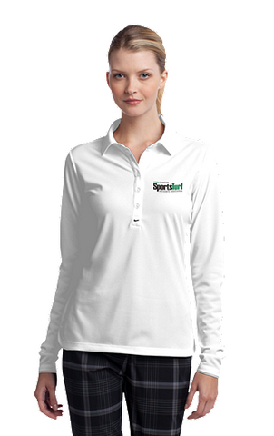 Iowa SportsTurf Managers Association Nike Golf Ladies Long Sleeve Dri-FIT Stretch Tech Polo