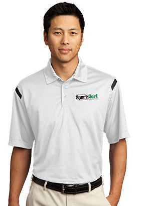 Iowa SportsTurf Managers Association Nike Golf - Dri-FIT Shoulder Stripe Polo
