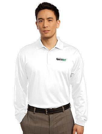 Iowa SportsTurf Managers Association Nike Golf Long Sleeve Dri-FIT Stretch Tech Polo