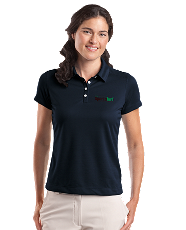 Iowa SportsTurf Managers Association Nike Golf - Ladies Dri-FIT Pebble Texture Polo