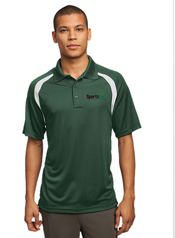 Iowa SportsTurf Managers Association Sport-Tek -  Zone Colorblock Raglan Polo