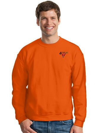 Lincoln Valley Golf Course Gildan - Heavy Blend™ Crewneck Unisex Sweatshirt  Dark Colors