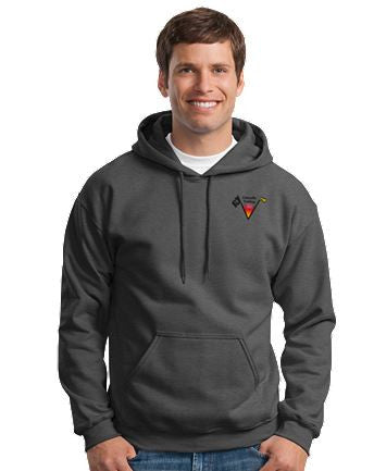 Lincoln Valley Golf Course Gildan- Heavy Blend™ Unisex Hooded Sweatshirt Dark Colors